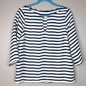 💙 ZARA Striped Nautical Top 💙